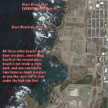 Glass Beach  Reviews Beaches Elm St