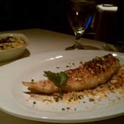Wildfish seafood grille haddock with truffles mac n for Wild fish san antonio tx