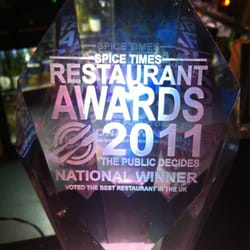 Best restaurant in The UK voted by…