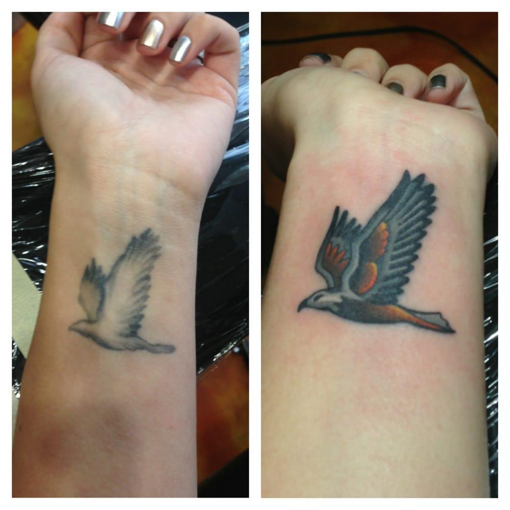 Lovesick tattoo tattoo hermosa beach ca yelp for Love sick tattoo