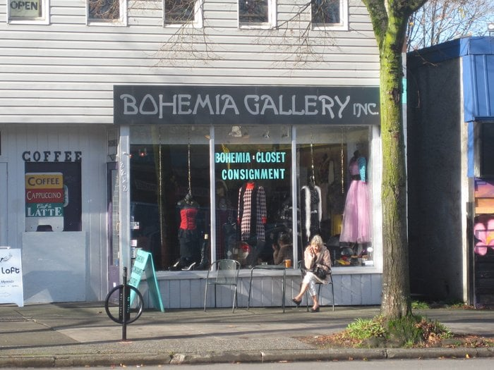 bohemia gallery vintage second clothing