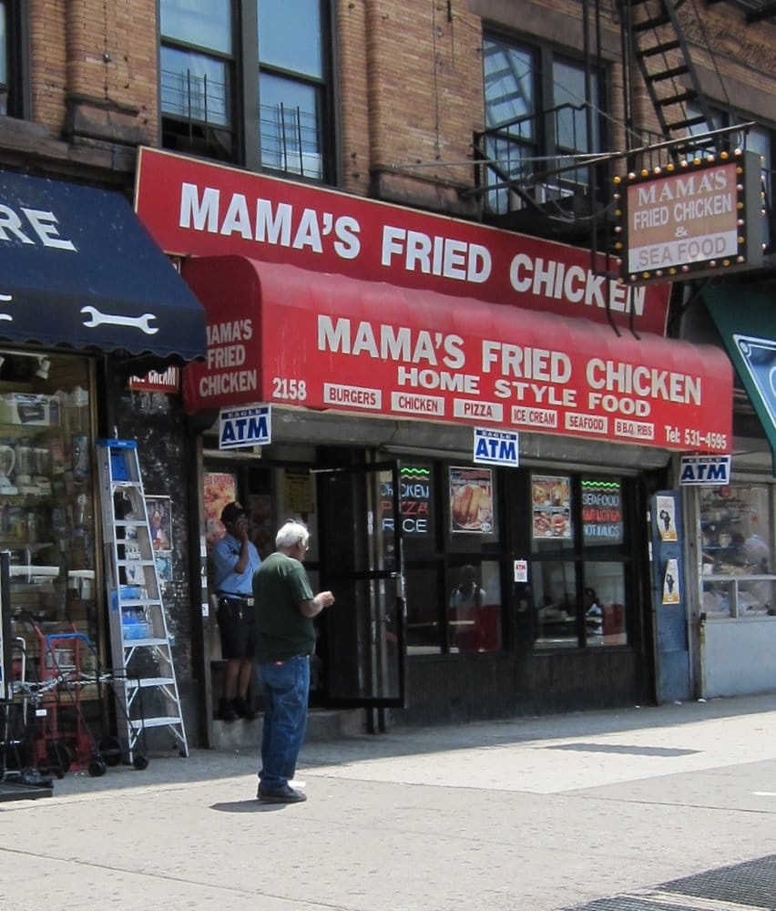 Mama s fried chicken takeaway fast food harlem new for Harlem food bar yelp