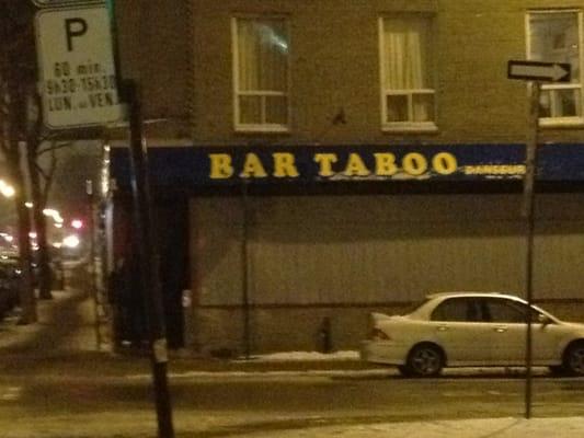 Bar Taboo
