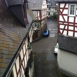 Blick aus dem Dachgaubenfenster