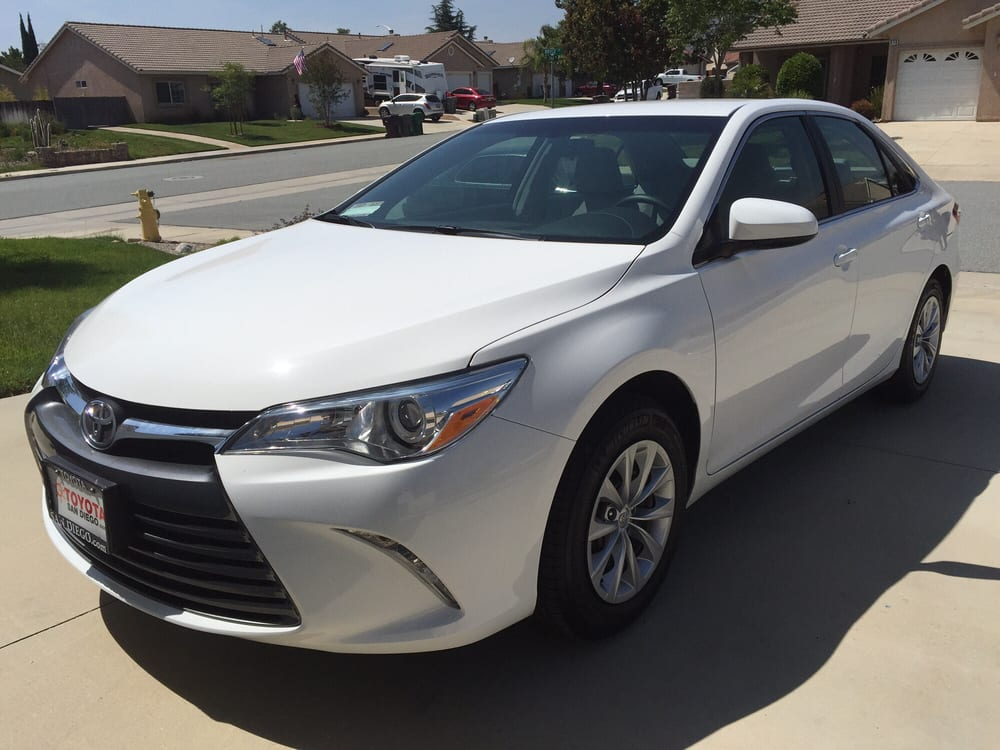 Toyota San Diego - Thank You Darrin We Love Our New  Toyota Camry Yelp
