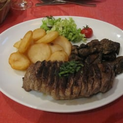 Duck breast with wild mushrooms and…