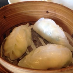 Crab and prawn dumplings