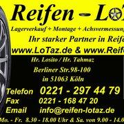 Reifen Lotaz, Köln, Nordrhein-Westfalen