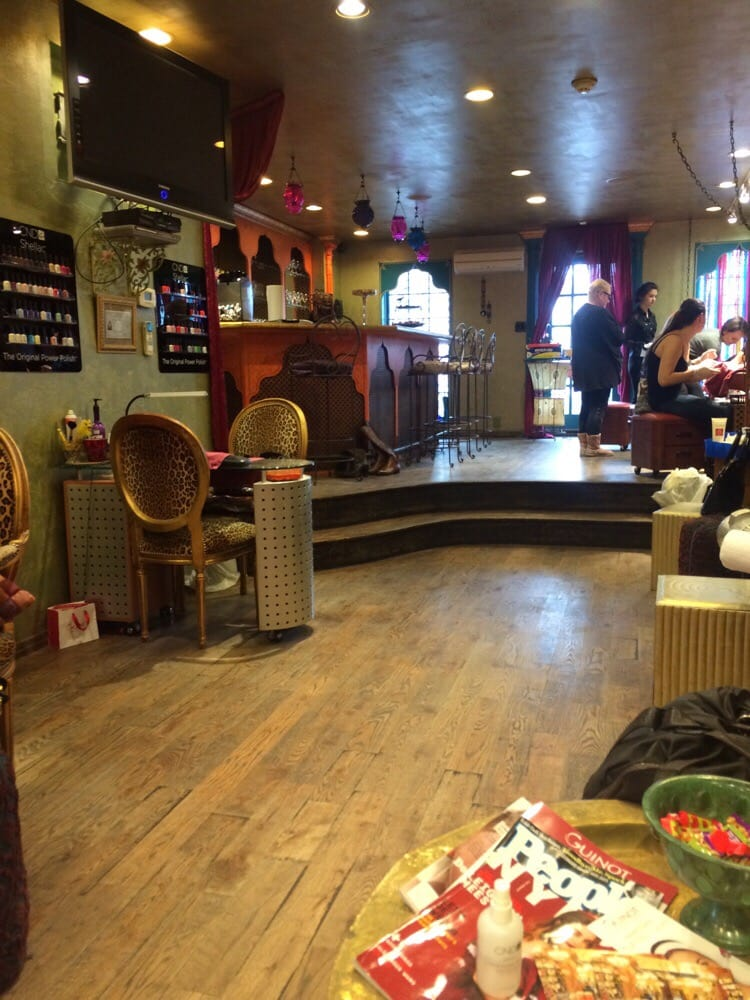 Delacqua salon spa hair salons bath beach yelp for 24 hour nail salon brooklyn