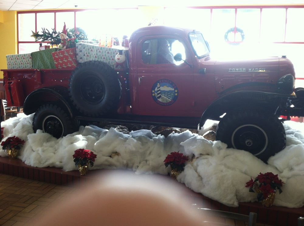 Another shot of the old Dodge truck in the Kenly 95 Truck Stop. | Yelp