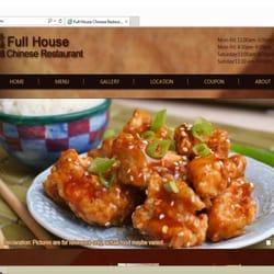 Full House Chinese Restaurant logo