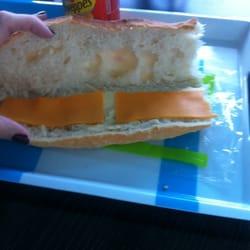 """La photo de mon sandwich """"au fromage"""".…"""