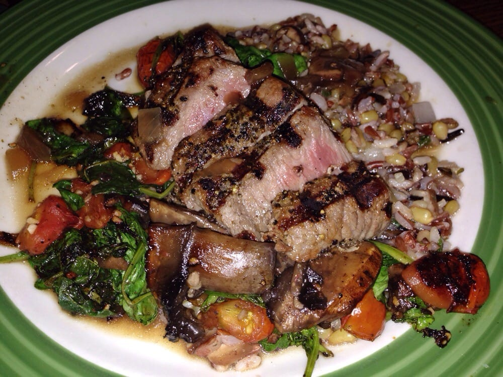 crusted sirloin on pepper crusted sirloin firebirds wood fired grill ...