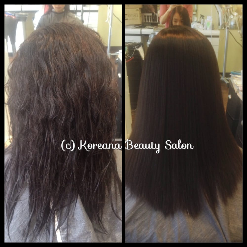 Japanese Straightening Before And After Before/after Japanese