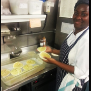 Our new recruit Maria making some fresh…