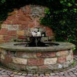 Der Brunnen der Fam.Wolf gab dem…
