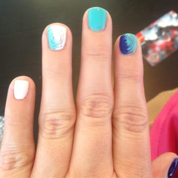 "gel nails by Mallery! According to my bf they are ""bad ass"". - Reno"