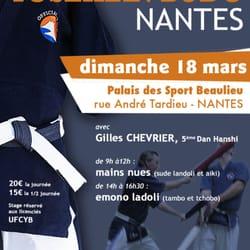 Stage à Nantes le 18 mars 2012