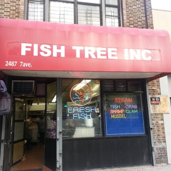 Fish tree seafood 2487 adam clayton powell jr blvd for Fish in a tree summary