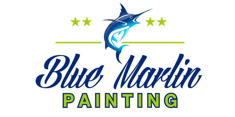 Blue Marlin Paintings Blue Marlin Painting Llc