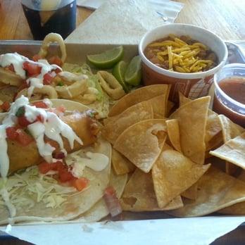 Mitch's Seafood - San Diego, CA, United States. Fish Taco Platter