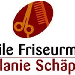 Die mobile Friseurmeisterin Melanie Schäper, Ketsch, Baden-Württemberg, Germany
