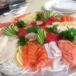 Lawrence fish market chicago il united states sashimi for Lawrence fish market menu