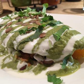 ... nacho cheese, cashew crema, pumpkin seed, salsa, cilantro | $9 (Get