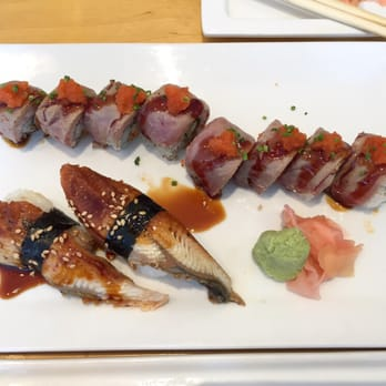 Fish market sushi bar sushi allston ma united states for Yellowtail fish sushi