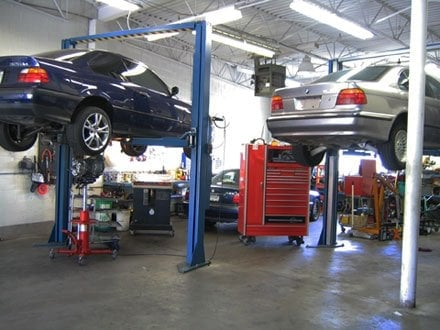 All tech auto repair motor mechanics repairers for South motors bmw collision center