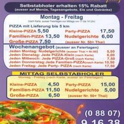 Diessner Pizza Heimservice, Dießen, Bayern
