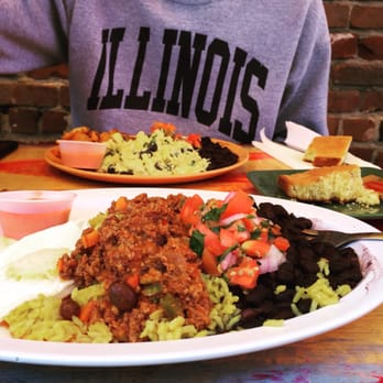 Primo Patio Cafe   San Francisco, CA, United States. Colorful Food :)