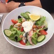 Bar de la Marine - Marseille, France. Seafood salad