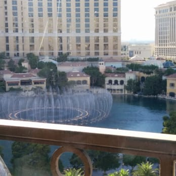 Eiffel Tower Restaurant Lovely View From The Dining Table Las Vegas N