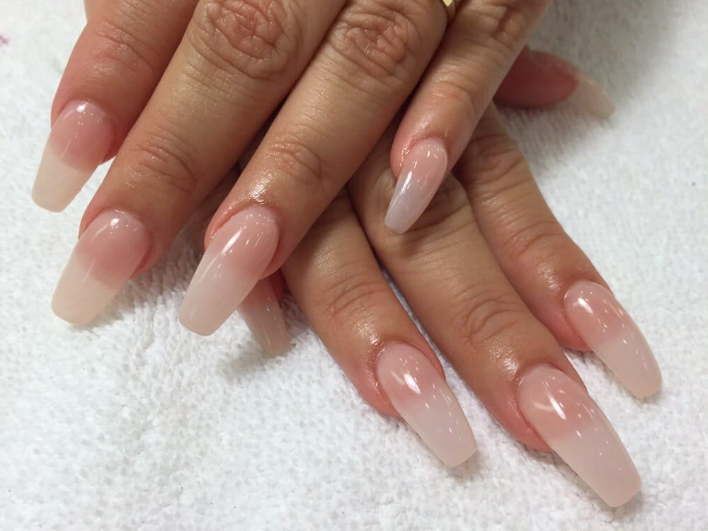 Ombre Acrylic Nails Tumblr - Nails Gallery