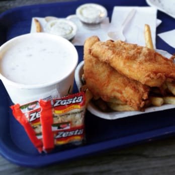 Spud fish chips 52 photos seafood restaurants for Spuds fish and chips