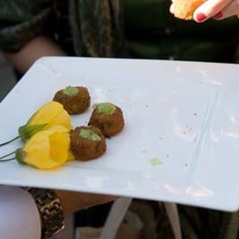 ... Crab and corn cakes with tomatillo salsa - San Anselmo, CA, United