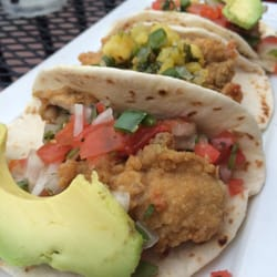 Fried oyster tacos by Jojo M.