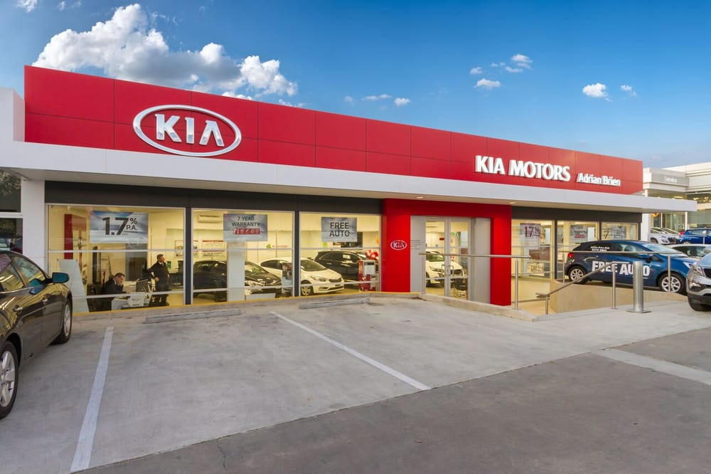 Adrian brien kia car dealers st marys south australia Kia motor dealers