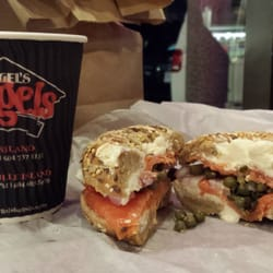 Siegel's Bagels - Vancouver, BC, Canada. Delish bagels & open early!!