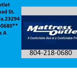 Mattress Outlet Richmond Mattresses 8115 W Broad St