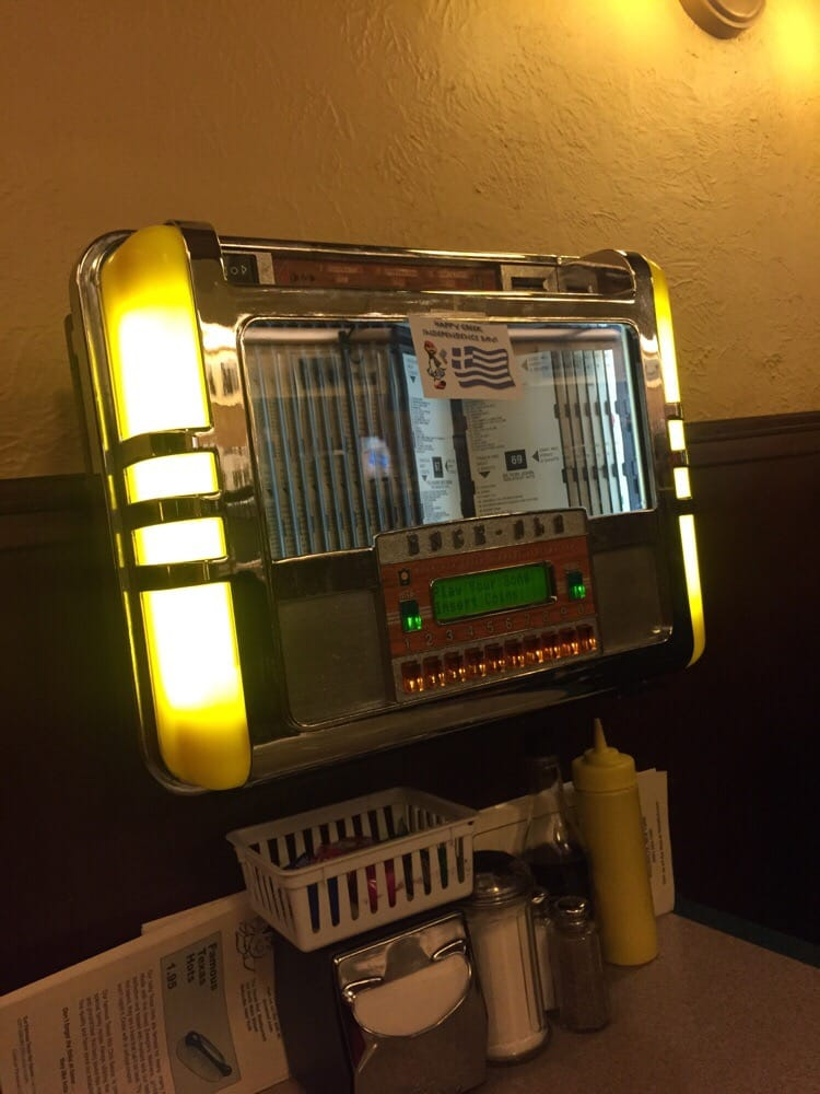 Wellsville (NY) United States  city pictures gallery : Texas Hot Restaurant Wellsville, NY, United States. Jukebox in the ...