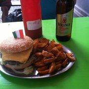The marien burger!