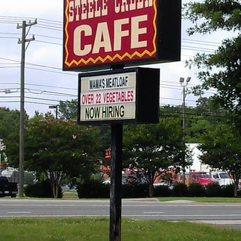 Steele Creek Cafe - The sign out front - Charlotte, NC, Vereinigte Staaten