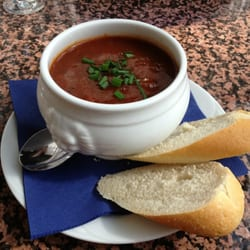Goulash Soup with Bread: €4.50