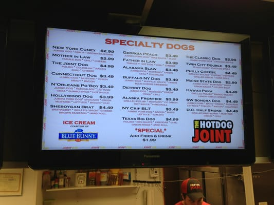The Hot Dog Joint Crestwood