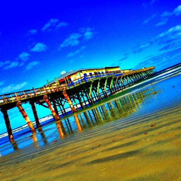 Sunglow fishing pier daytona beach fl yelp for Sunglow fishing pier