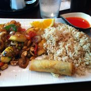 Dragon's Pond - Lunch: Kung Pao Prawns w/ Brown Rice - Walnut Creek, CA, Vereinigte Staaten
