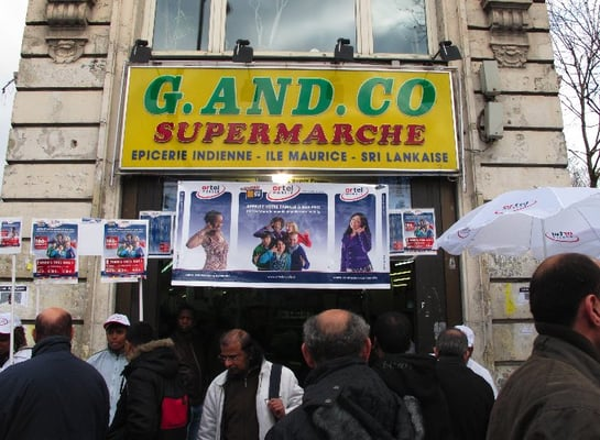 G and co supermarch shopping barb s goutte d 39 or - Supermarche gare du nord ...
