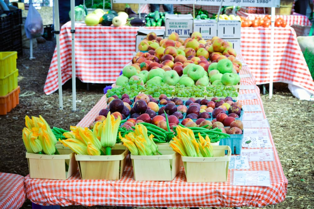 Green City Market - Chicago, IL, United States. a rainbow of colors